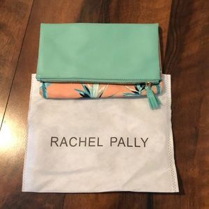 Cute Rachel Pally turquoise and flower clutch